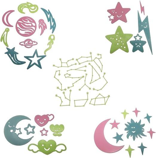 Fairy on Moon Vinyl Decal sticker approx 10 x 12 cm bedroom door decal