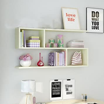 Amazon.de: Wall shelves Wandregal/weinregal / küche lagerregal ...