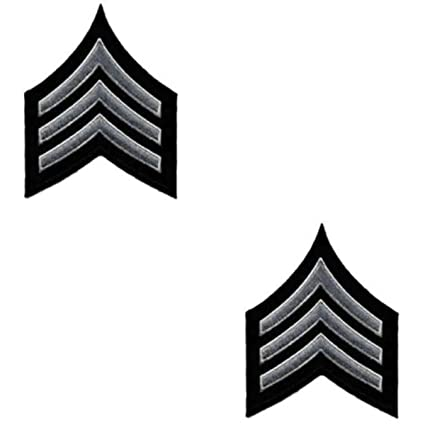 Uniform Chevrons - LAPD - Pair - Sergeant I