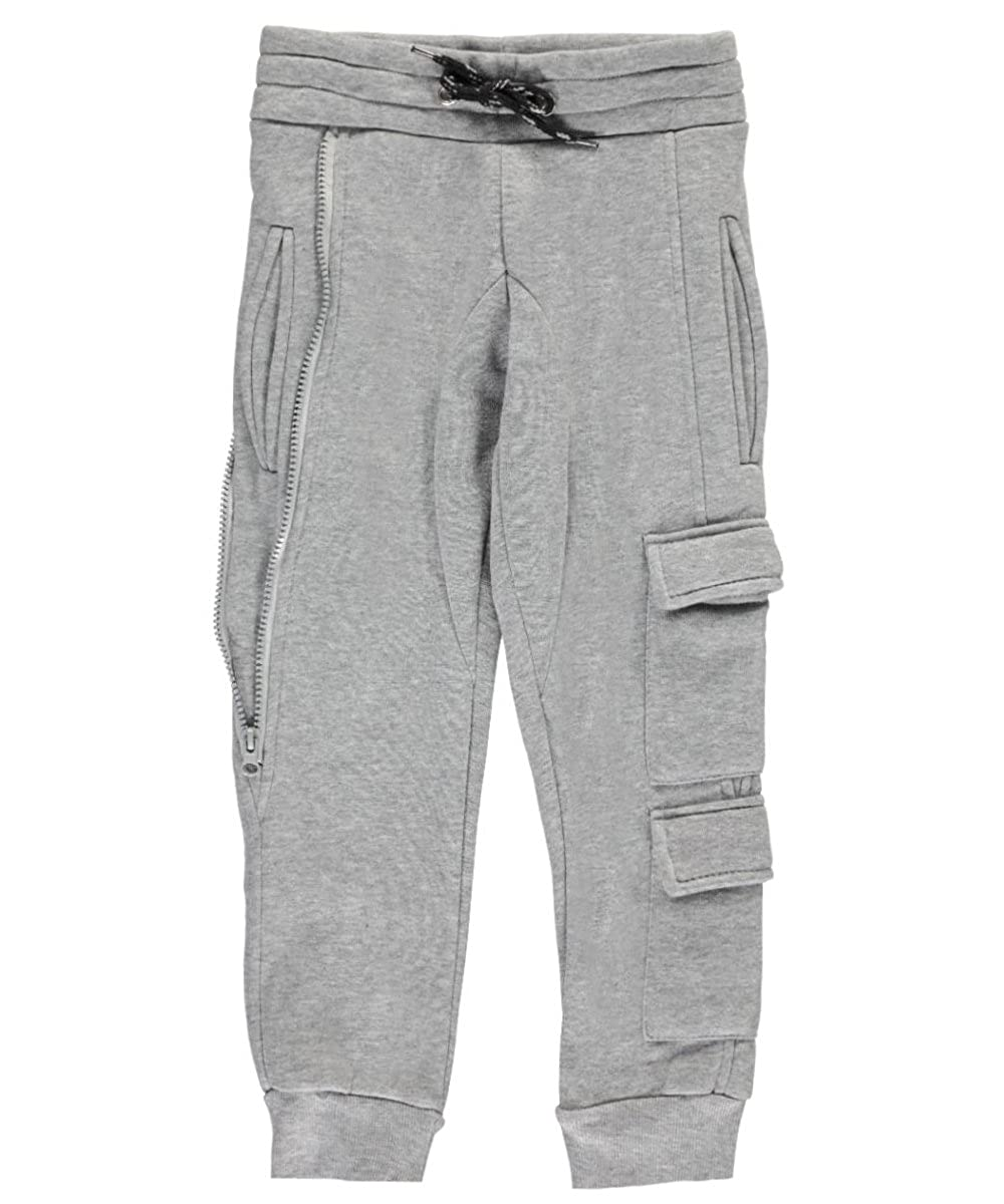 Encrypted Little Boys' Side Zip Joggers 4