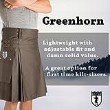 Damn Near Kilt 'Em Men's Greenhorn Utility Kilt