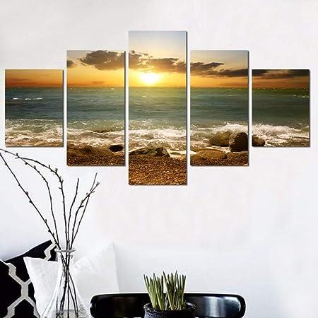 XINGMUZSH Peinture Décorative Style Simple Jet d\'encre HD ...