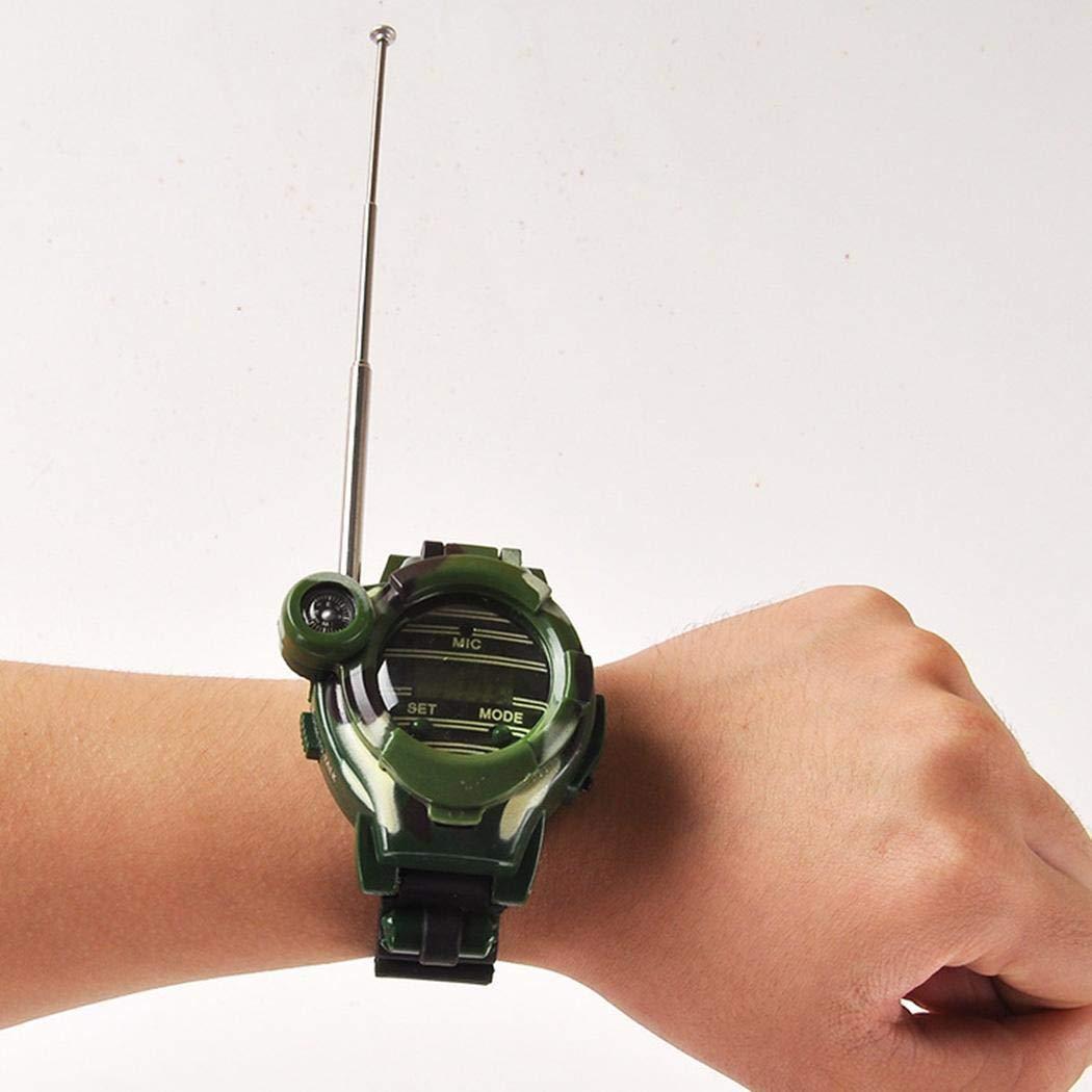hiriyt Children Camouflage Watch Wireless 7 in 1 Outdoor Children's Walkie Talkie Toy Walkie Talkies by hiriyt (Image #4)