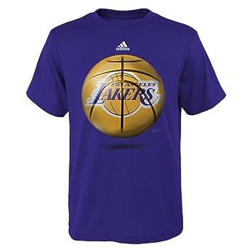 Los Angeles Lakers Logo Youth bola camiseta (morado), Niños niña Unisex, morado: Amazon.es: Deportes y aire libre