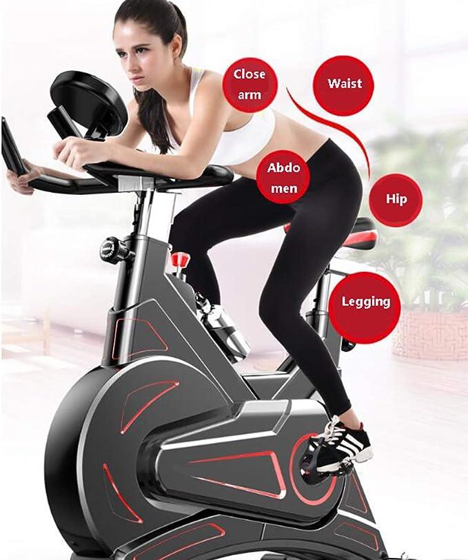 HLEZ Bicicleta Spinning Indoor, Control de App para Smartphone ...