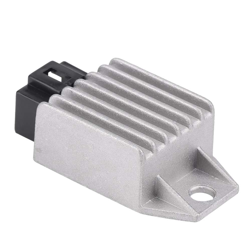 4-Pin Male Plug Regulator Rectifier, 12V Regulator Rectifier for Scooter  Bike Moped ATVs Gokarts Buggie with GY6 Motor 50cc to 150cc