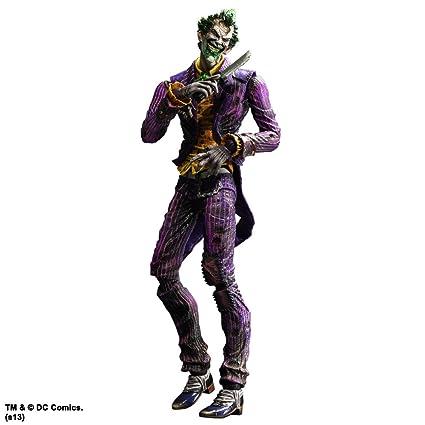 2d9f9bc16f12f2 Amazon.com  Batman Arkham City Play Arts Kai Joker Action Figure ...