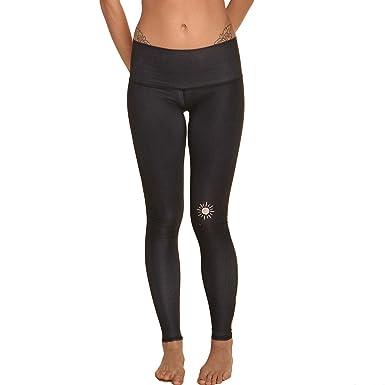 5c4baecd43 Teeki New Moon Black Hot Pant Yoga Leggings (XS), Pants - Amazon Canada