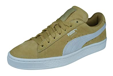 first rate 9fb6b 34e08 Puma Suede Classic HOL Womens Ladies Trainers Orange/White ...