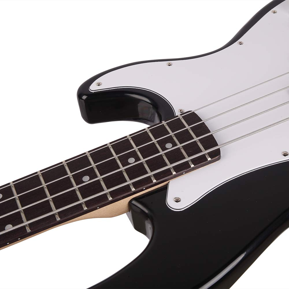 Right Handed Exquisite Stylish Electric Bass Guitar with Power ...