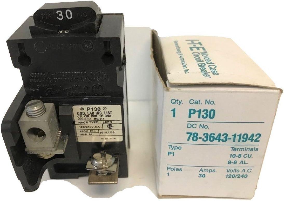 NEW IN BOX P230 BULLDOG ITE GOULD SIEMENS Circuit Breaker 120//240V 2 Pole