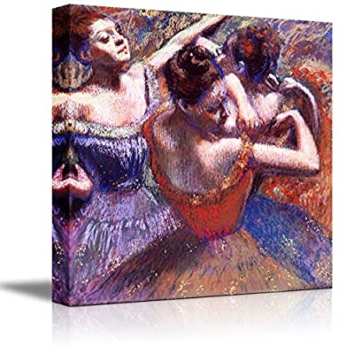 Dancers by Edgar Degas - Canvas Print Wall Art Famous Painting Reproduction - 16