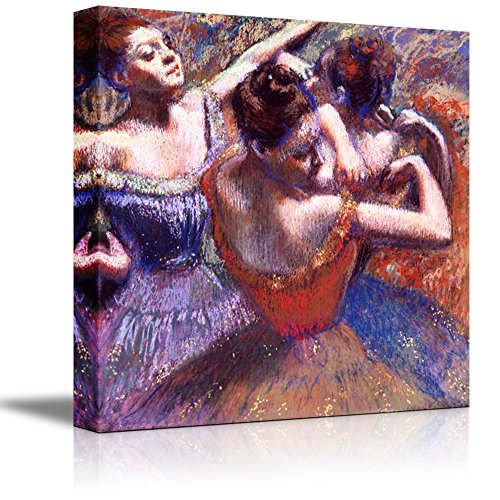 Dancers by Edgar Degas - Canvas Print Wall Art Famous Painting Reproduction - 12