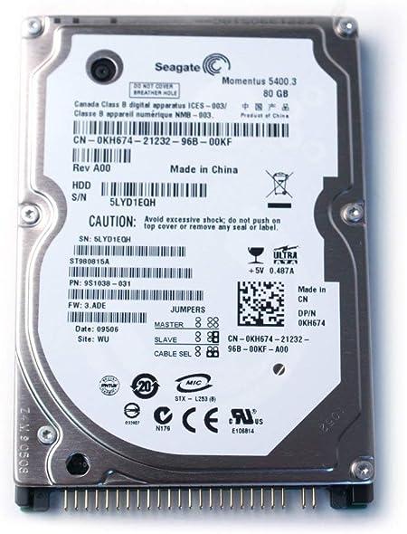 Seagate Momentus 80GB 2.5