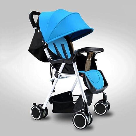 ZHAOJING Cochecitos de bebé Carrito de bebé de cuatro ruedas ...