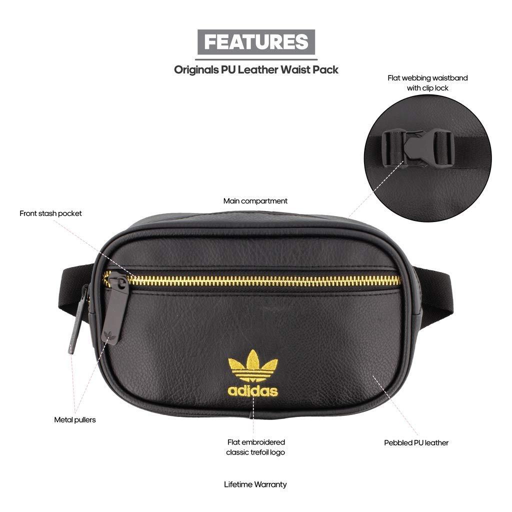 a9c2fc4acbc5f Amazon.com  adidas Originals PU Leather Waist Pack