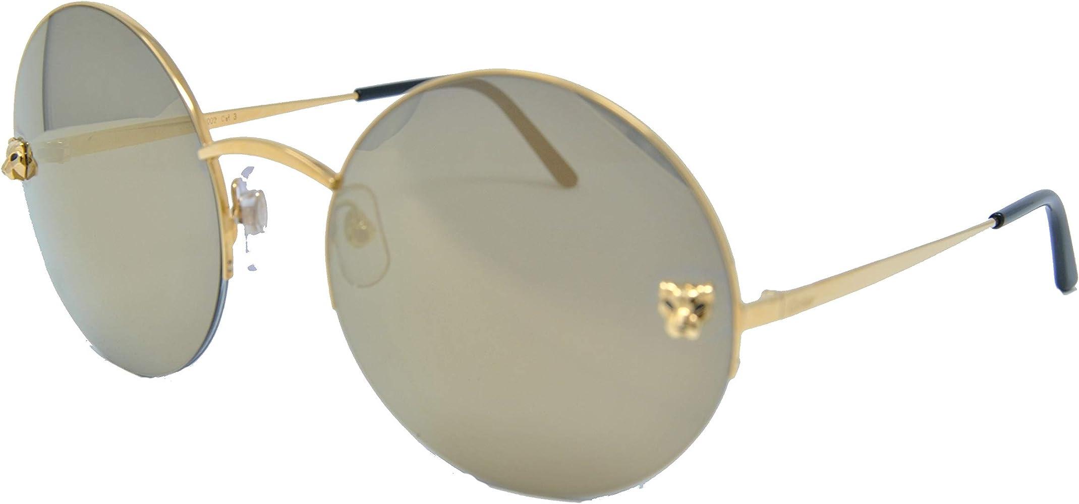 Cartier - Gafas de sol - para niña Dorado dorado 58: Amazon ...