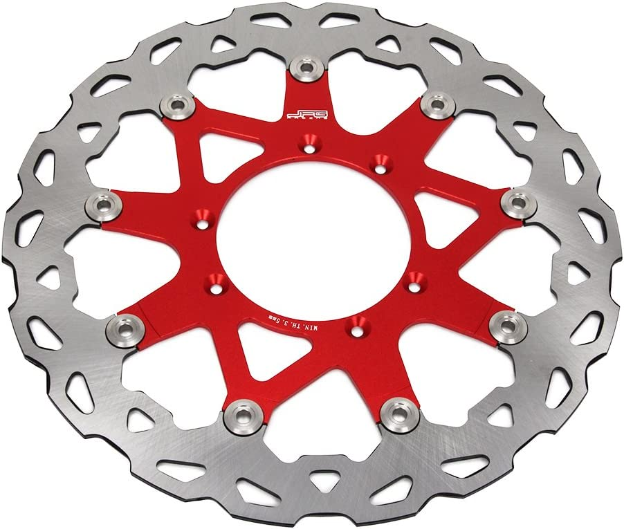 und herbewegender Bremsscheiben-Rotor JFG Racing 320mm vorderer Sich hin CR125 CR125R CR250 CR250R CRF250X CRF250R CRF450R CRF450X CR500R Enduro