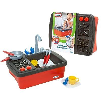 Little Tikes Splish Splash Sink & Stove: Toys & Games