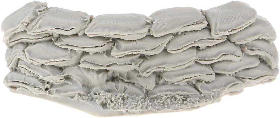 Perfeclan 2x Resin Soldier Scene Accessory 1//35 Resin Model Sandbag Wall Figure Unpainted