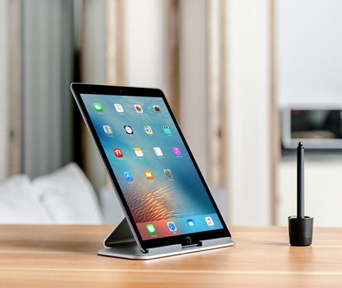 Thingy Club Ultimate Supporto Tablet per Apple iPad PRO Scrivania in Alluminio Superficie PRO e Altri 17,8/cm 13/Tablet