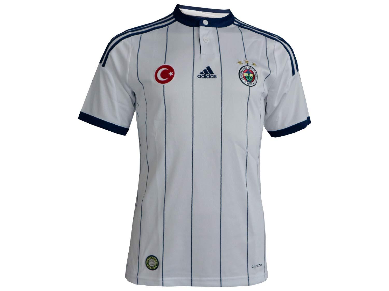 974bff71b9e adidas 2014-2015 Fenerbahce Away Football Soccer T-Shirt  Amazon.co.uk   Sports   Outdoors