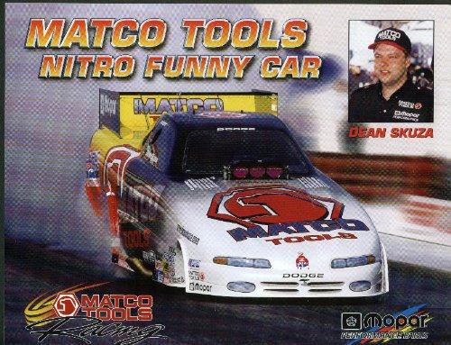 Dean Skuza Matco Tools Dodge Nitro Funny Car NHRA print - Funny Car Nitro