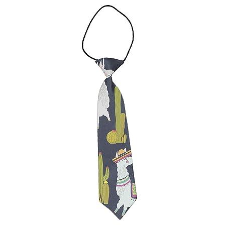 INWANZI - Corbata elástica para niños y niñas, Color Rosa: Amazon ...