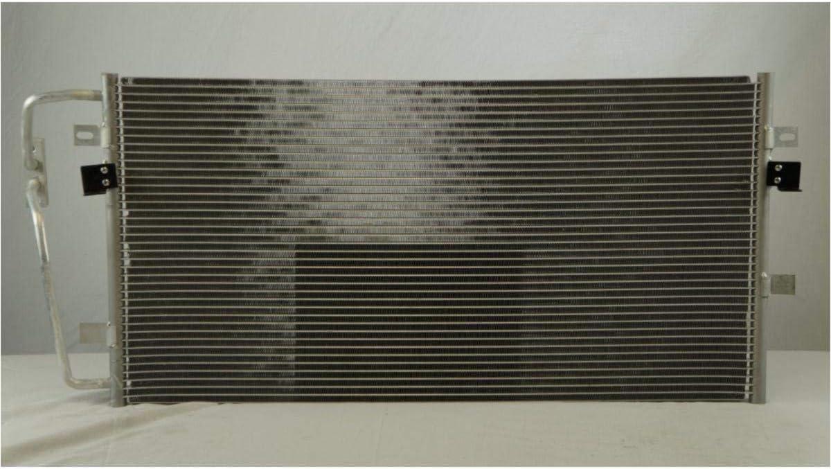 1pc All Aluminum Air Condition Condenser 1 Row For 2000-2005 Buick LeSabre 3.8L 2000-2005 Pontiac Bonneville 3.8L V6 Without Oil Cooler