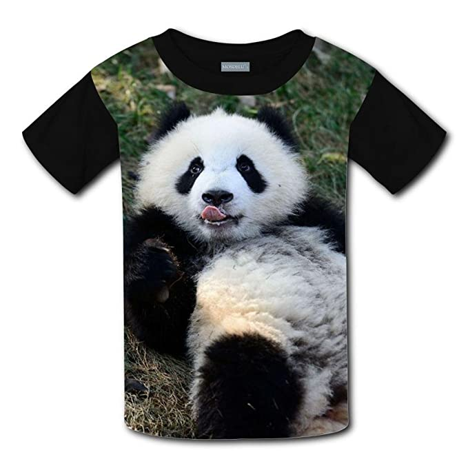 0dcf09756b6b Amazon.com  Yangjio T-Shirts Lovely Panda 3D Print Short Sleeve For Kids   Clothing
