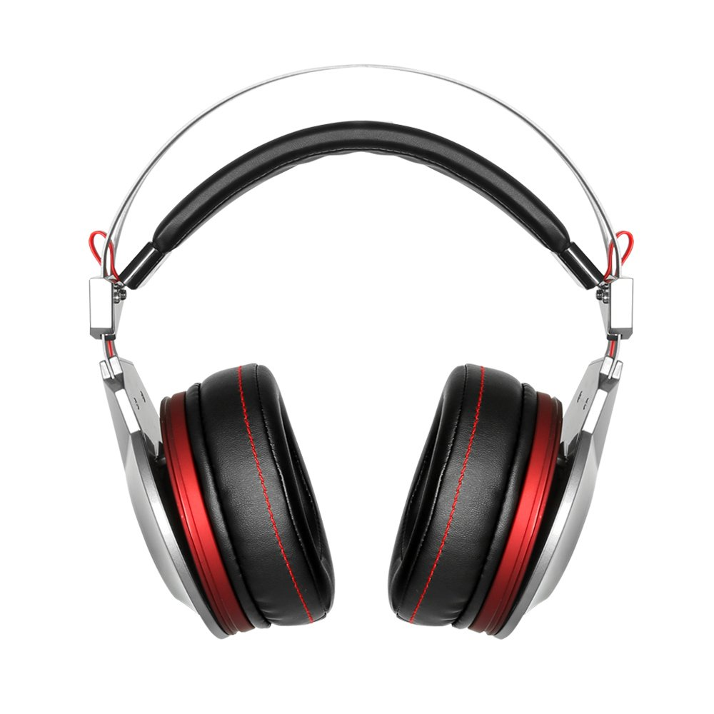 XIBERIA PS4 Gaming Headset for Xbox One Headphones Wired Over Ear Surround Sound with Microphone Switch Stereo Bass Volume Control Noise Isolating for Laptop, Mac, Computer, Tablet (K5D - 3.5mm@4Pin)