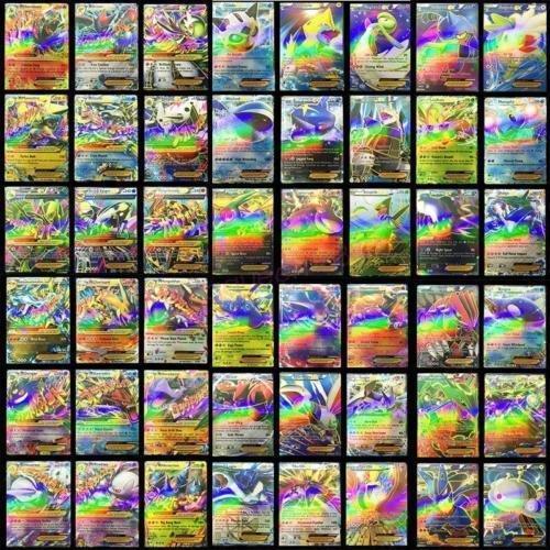 Newest Pokemon 100 CARD LOT RARE 20 MEGA FLASH Holo CARDS+80 EX CARDS NO REPEAT (Cards Newest Pokemon)