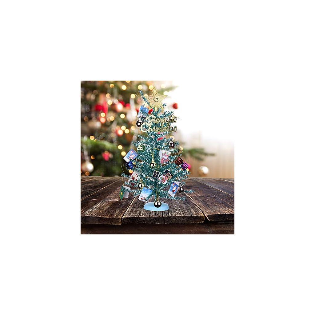 KEYNICE-Artificial-Mini-Tinsel-Tree