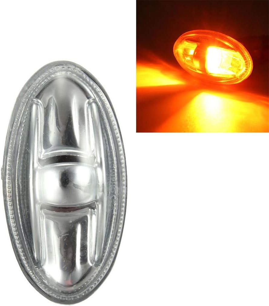 Festnight Side Indicator Repeater Light Lamp 6325G3 Fit for Peugeot 108 107 206 1007 407 Partner