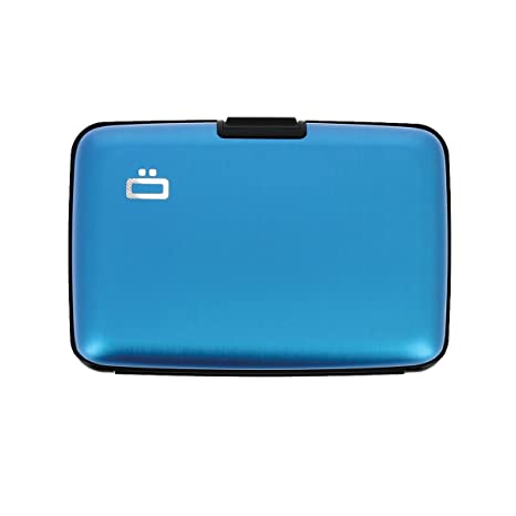 competitive price 1ff17 0a134 Amazon.com : Ogon Designs Credit Card Wallet, Ridges, Blue ...