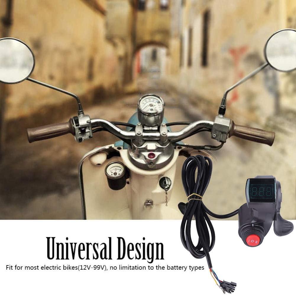 LCD Digital Daumengas Daumengasgriff Gashebel für Pedelec e-Bike Elektrofahrrad♥