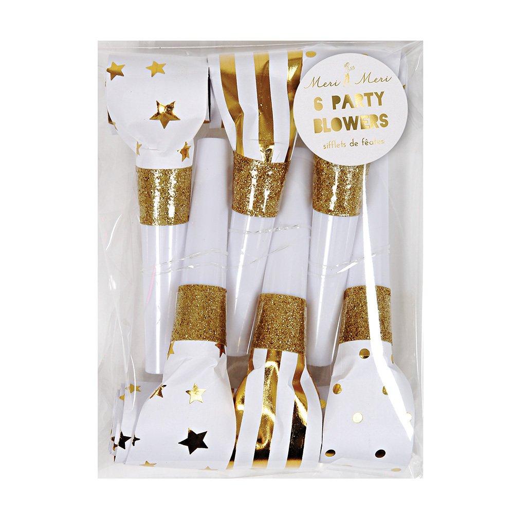 Meri Meri Gold Party Blowers by Meri Meri