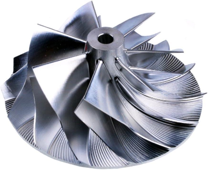 7+7 Blades 61.3//82 mm Kinugawa Turbo Billet Compressor Wheel Garrett GT3582R 714568-1
