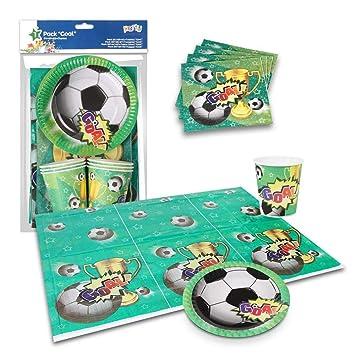 ALMACENESADAN 9970, Pack Fiesta o cumpleaños Goal, Futbol ...
