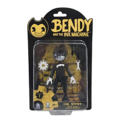Bendy and the Ink Machine - Action Figures - Series 1 (Ink Bendy): Toys & Games [5Bkhe1001325]