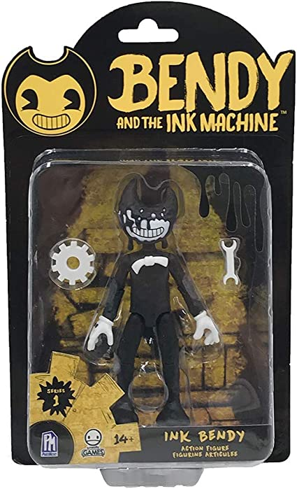 """Bendy And The Ink Machine Series 1 5/"""" Action Figure Bendy"""