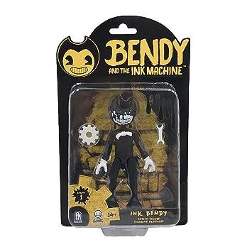 color rápido precio baratas la mejor actitud Bendy And The Ink Machine BTIM6603 - Figura de acción Flexible, Color Negro