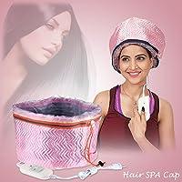 Kawachi Hair Care Thermal Head Spa Cap Treatment with Beauty Steamer Nourishing Heating (K436)