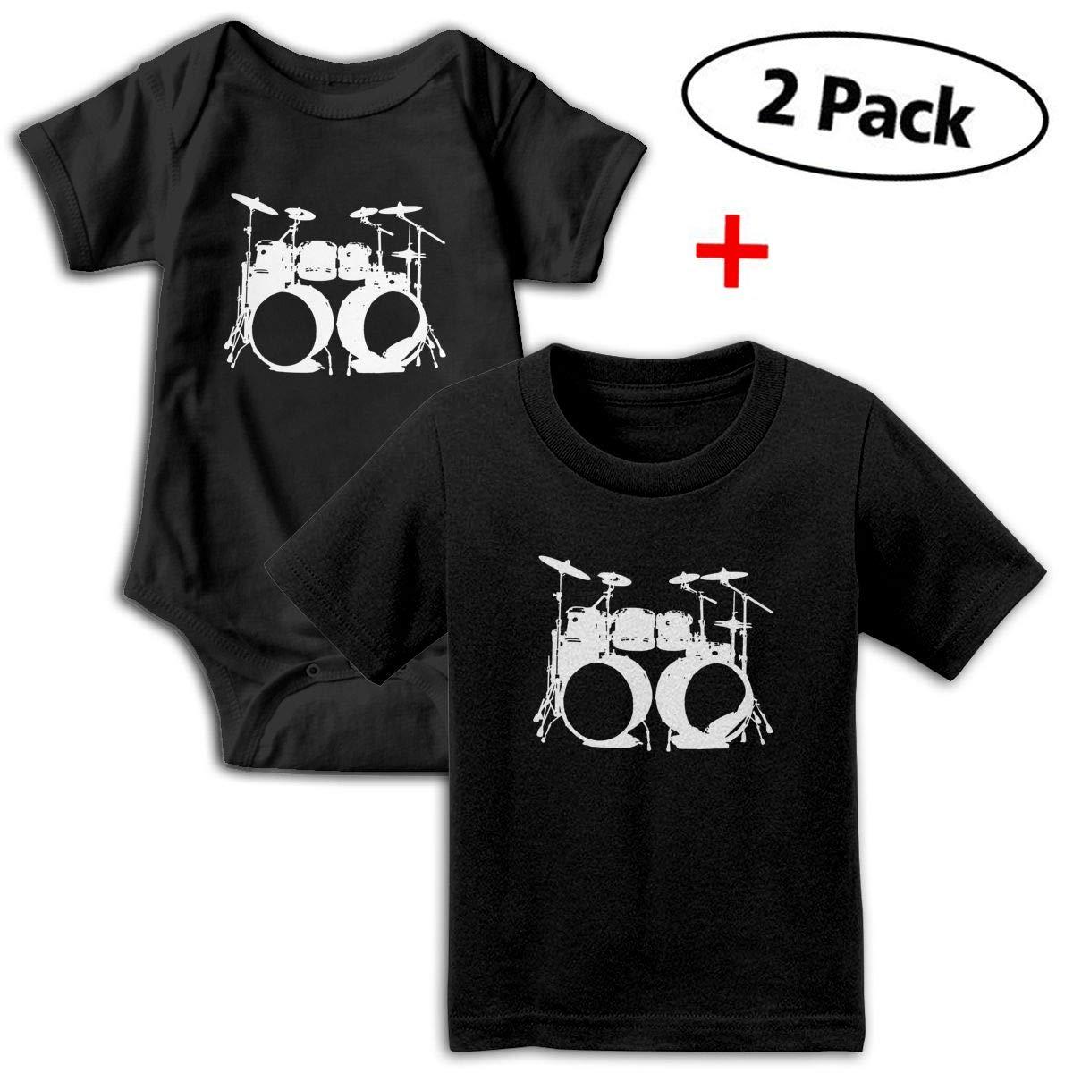 Drums Babys Boys /& Girls Short Sleeve Bodysuit Baby Onesie And Tshirt