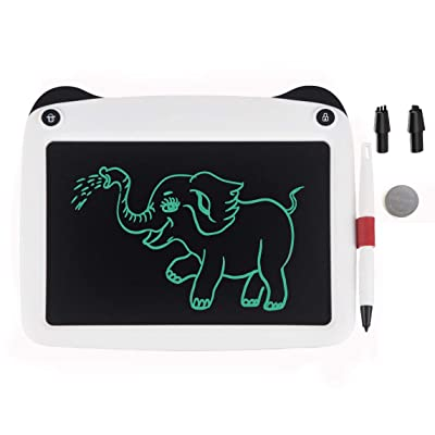 "JRD&BS WINL LCD Electronic Writing Tablet Toys for 4-9Year Old Boys, Teen Boy Girl Birthday Presents Gifts,9"" Handwriting Paper Drawing Tablet at Home and Outdoor (White33): Office Products"