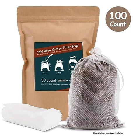 Amazon.com: No Mess filtros de café frío, fácil de usar ...