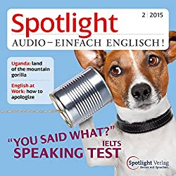 Spotlight Audio- Speaking test. 2/2015