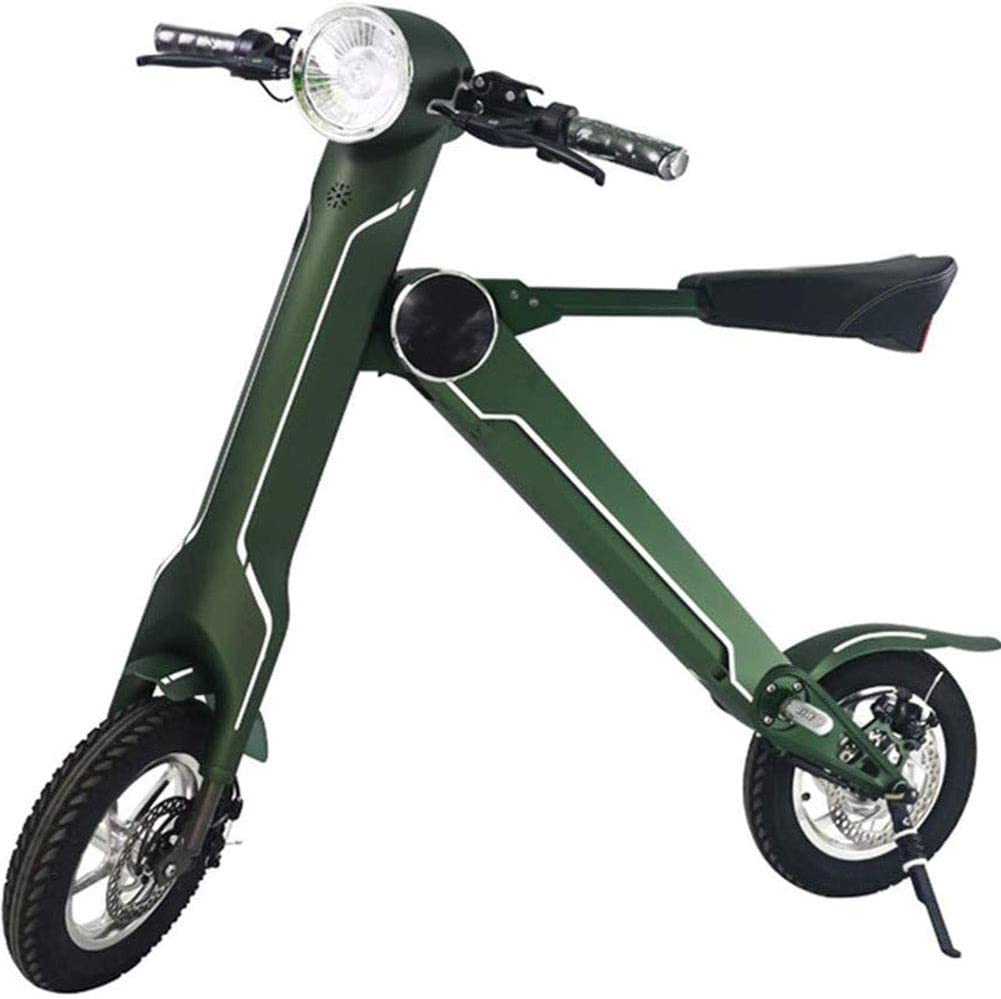 RXRENXIA Bicicleta Plegable Eléctrica, para Adulto Mini Eléctrica ...