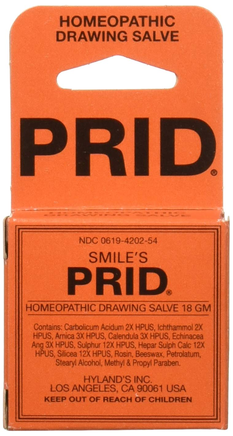 Hyland's Homeopathic Pride Drawing Salve, 18 Gram - Pack of 2