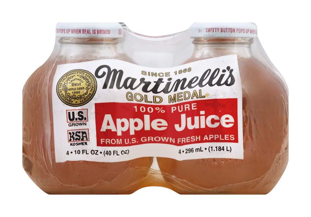 Martinelli's Juice Apple, 4 pk, 10 oz